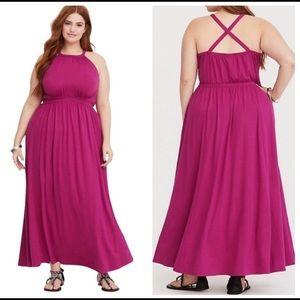 Torrid size 2 SHORT Maxi Dress